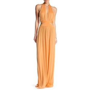 NWT Rachel Pally Naeva halter backless maxi dress